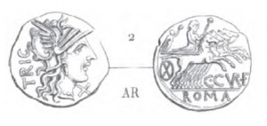 Denier Curiatia _ RRC 240/1