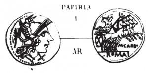 Denier Papiria _ RRC 276/1