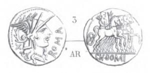 Denier Domitia _ RRC 285/1