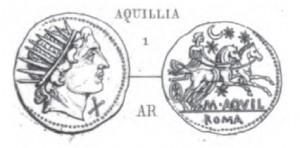 Denier Aquillia _ RRC 303/1
