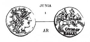Denier Junia _ RRC 210/1