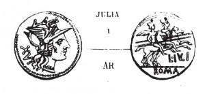 Denier Julia _ RRC 224/1