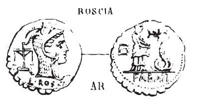 Denier Serratus Roscia _ RRC 412/1