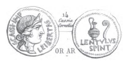 Aureus Cassius _ RRC 500/2