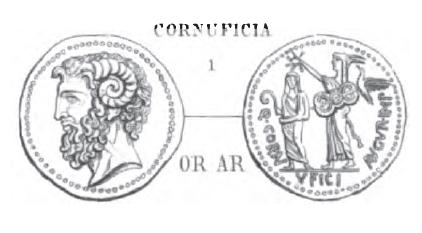 Denier Cornuficia _ RRC 509/2